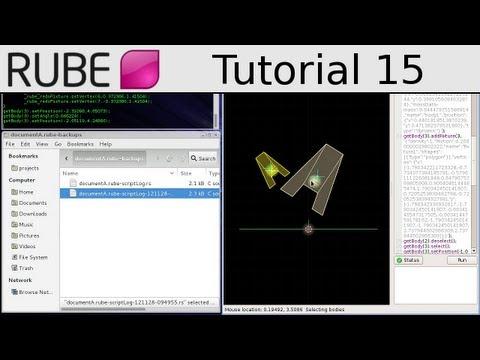 RUBE editor tutorial 15/18 - Script logs - UCTXOorupCLqqQifs2jbz7rQ