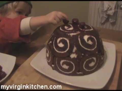 Simple Chocolate Bombe - MYVIRGINKITCHEN