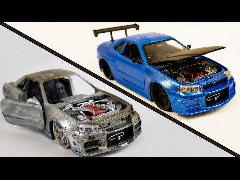 Repair Abandoned Toy Car #2 | Nissan Skyline GTR R34 - UCVNCeX5iB6cYdTLx5NwbKuA