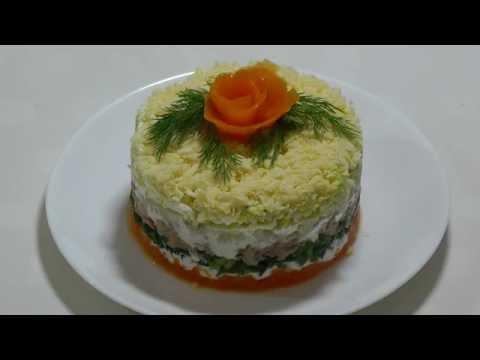 Мимоза - не обычный рецепт. Рецепты салатов.Mimosa salad - UCzlUZvmwVLBKRqygM38i7Lw