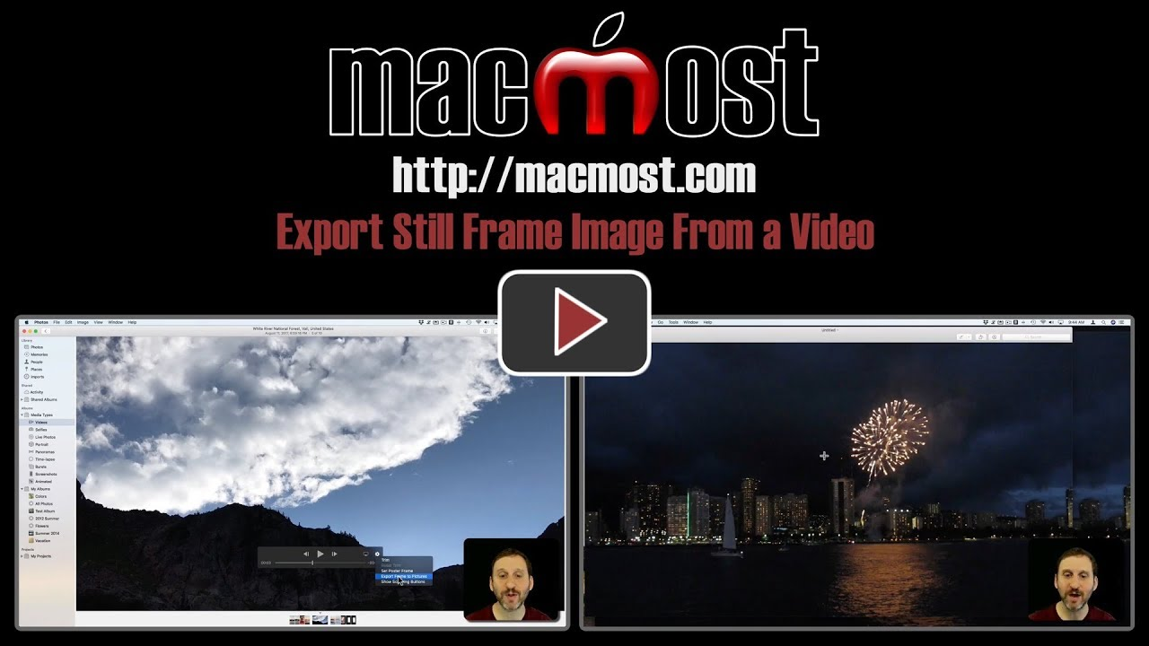 Export Still Frame Image From a Video – MacMost