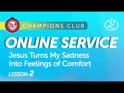 Champions Club Online Service  Week 2
