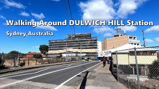 Walking Around DULWICH HILL Station On A Windy Day During Winter 2019 | Sydney Australia