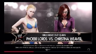 WWE 2K19 One on One *QUEEN* - Phoebe Lords vs Christina Weaver