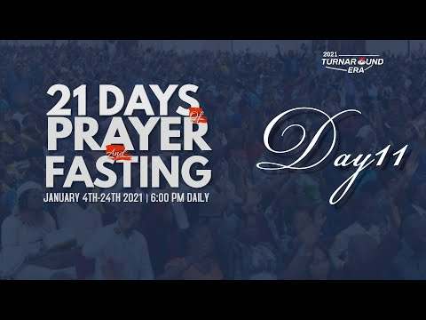 DOMI STREAM :DAY 11 ANNUAL  PRAYER  & FASTING  14, JANUARY 2021  FAITH TABERNACLE OTA