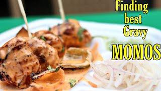 Best Gravy Momo's In Saket - Cheap vs Expensive | Hmm!