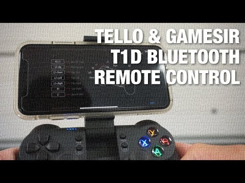 Tello Bluetooth Remote Control w/ GameSir T1d for iOS and Android
