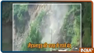 Video of a massive landslide in Uttarakhand goes viral