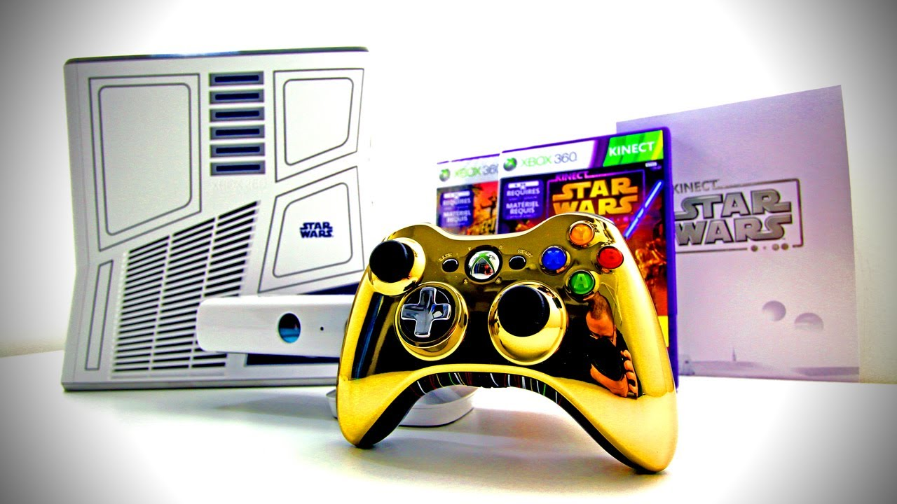 Kinect star wars video games » xbox 360 the game hub.