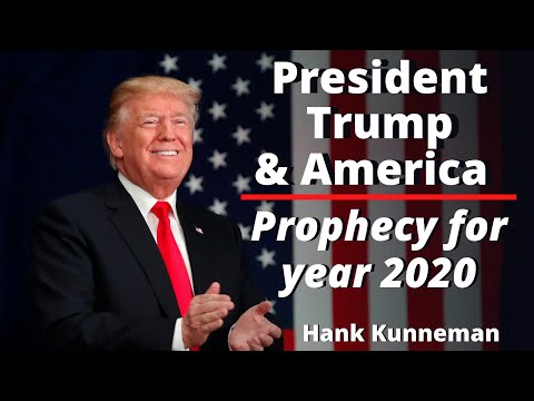 President Trump & America  Powerful Prophecy from Hank Kunneman NOW COMING TRUE!