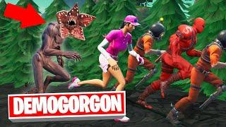 RUN From The DEMOGORGON Or DIE! (Fortnite Stranger Things)
