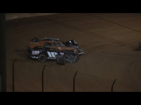 Great Race Modified Street at Lavonia Speedway April 23rd 2021 - dirt track racing video image
