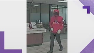Police: Man wearing face mask wanted for robbing Villa Rica bank