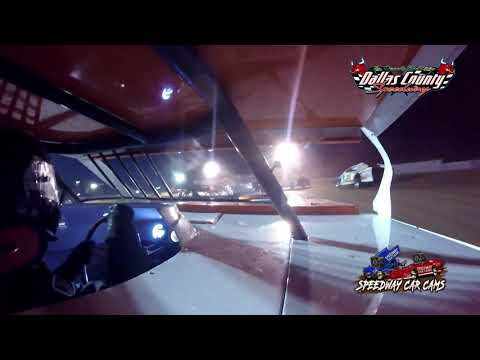 #22D Travis Dobbs - Midwest Mod - 8-20-2021 Dallas County Speedway - In Car Camera - dirt track racing video image