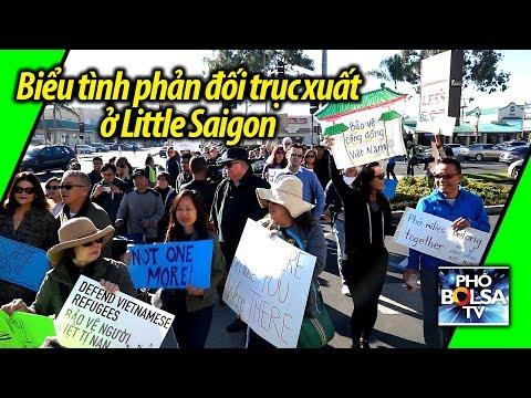 Biểu tình ở Little Saigon phản đối quyết định trục xuất của chính quyền TT Trump
