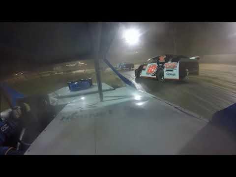 Red Dirt Raceway Sport Mod/B-Mod A-Feature 10/16/2021 Kyle Wiens #18 GoPro - dirt track racing video image