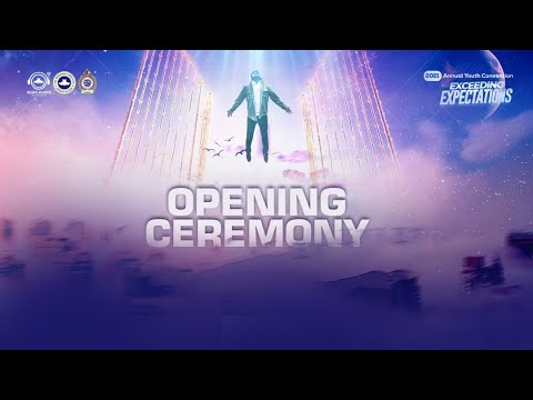 RCCG YOUTH CONVENTION 2021 - OPENING CEREMONY  DAY 1