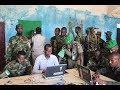 Biometric registration of the Darwish militia in Jubbaland