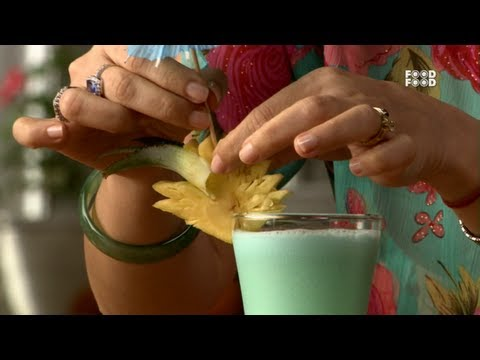 Blue Hawaian Mocktail - Mummy Ka Magic - UCthIcpK06l9bhi9ISgreocw