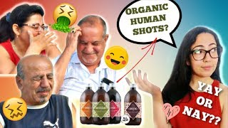 WE TRIED OUT THE ORGANIC HUMAN SHOTS!! THIS IS SHOCKING OMG!!!!!! 😲 **MUST WATCH**