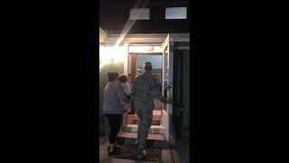 Airman Surprises Wife at Home After Gap of Few Months - 1039409