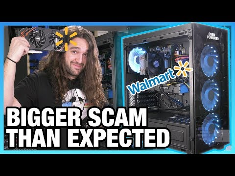 Walmart Gaming PC: How to Do Everything Wrong | Overpowered DTW3 - UChIs72whgZI9w6d6FhwGGHA