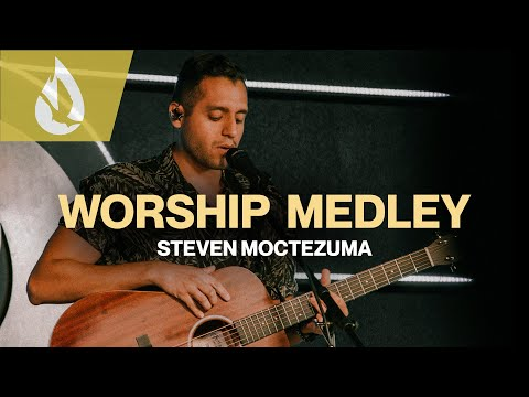 I Worship You Almighty God & Fill The Room  Acoustic Worship Cover by Steven Moctezuma