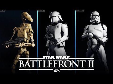 Star Wars Battlefront 2 NEW First Order Stormtrooper Snow Skin & MORE - default