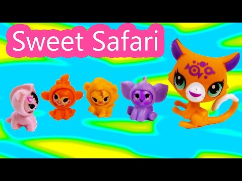 LPS Sweet Safari Playset Collection Littlest Pet Shop Baby Animals Toy Review Unboxing - UCelMeixAOTs2OQAAi9wU8-g