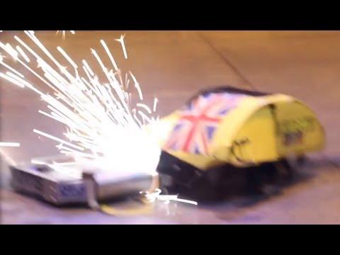 RC Combat Robot Wars - Wedgie v Night Fury v Galactus - 2014 UK Fighting Robots FW Champs Q7 #6 - UC1itkXgauC74rZhf1rxosHA
