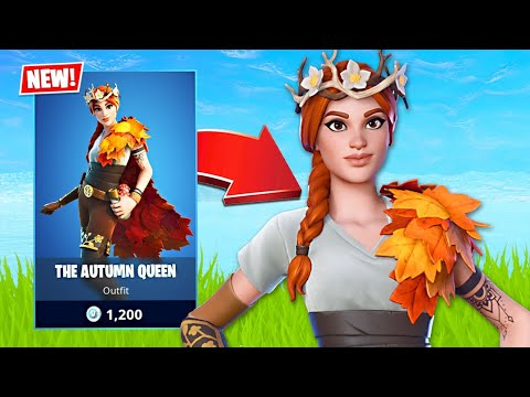 New The Autumn Queen Skin! (Fortnite Battle Royale) - UC2wKfjlioOCLP4xQMOWNcgg