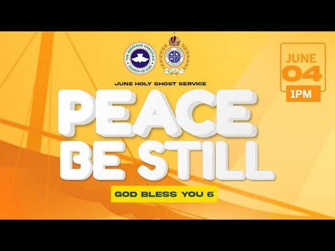 RCCG JUNE 2021 HOLY GHOST SERVICE - YOUTH HOUR