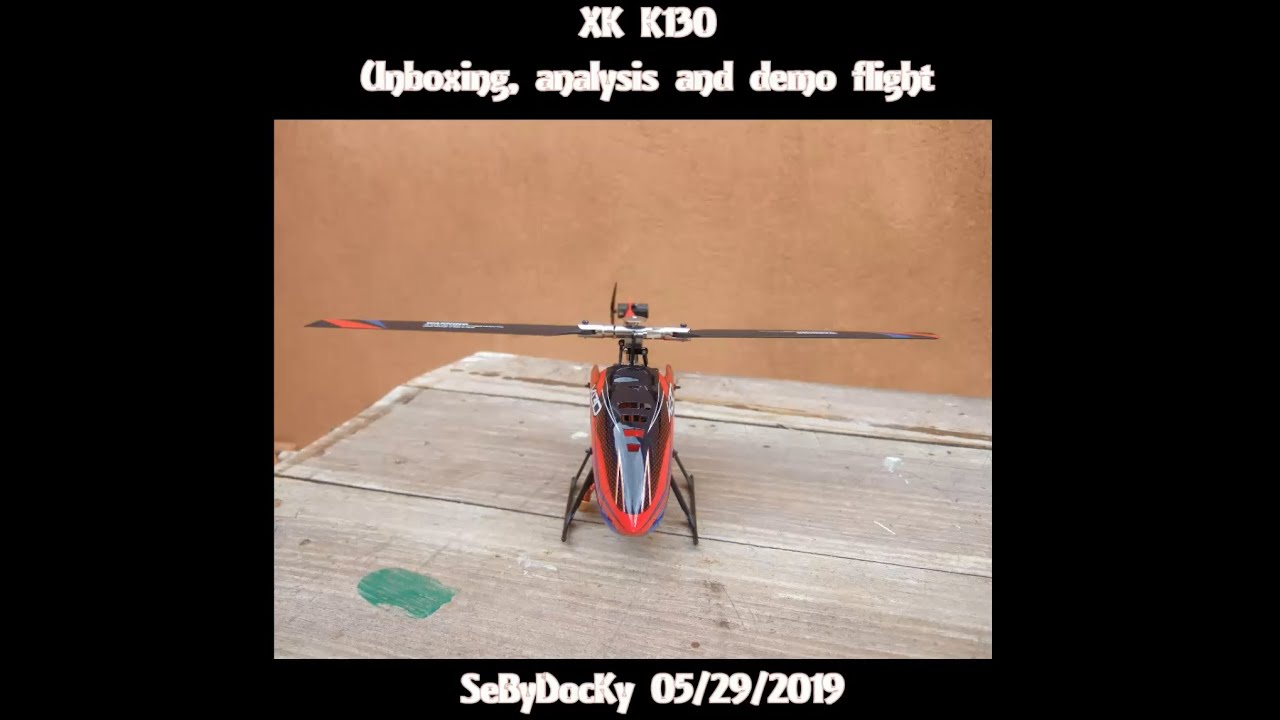 XK K130: unboxing, analysis and demo flight (Courtesy