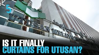 EVENING 5: Reports: Utusan to cease printing this week