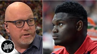 Pelicans GM gives Zion injury update, explains why he was shut down for NBA summer league | The Jump