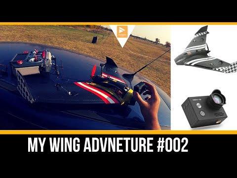 My Sonic Model Mini Wing Adventure with Hawkeye 8S Action Camera // Wing Adventure #002 - UC3c9WhUvKv2eoqZNSqAGQXg
