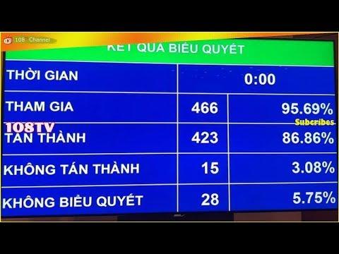 Nóng: Quốc hội Việt Nam hối hả thông qua Luật An ninh mạng[108Tv]