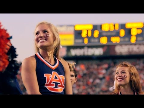 A Day In the Life: Auburn Cheerleaders