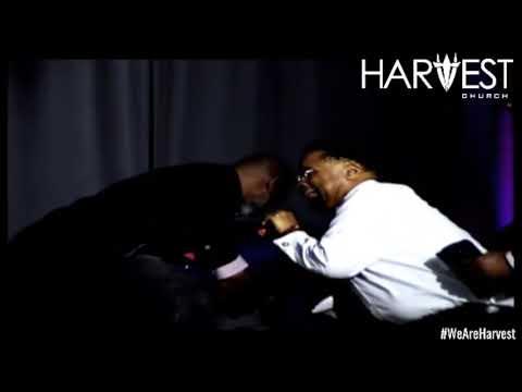 Pastor Hannah Prophesying Over Bishop Foreman