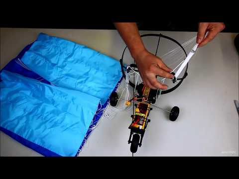 H-King High Performance Paramotor UNBOXING and ASSEMBLY Spektrum setup from Hobbyking