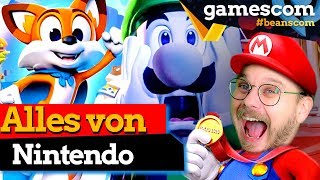 Nintendo GC Line Up: Luigi's Mansion 3, Witcher 3 Switch, Super Lucky's Tale uvm. | gamescom 2019