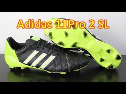 Adidas 11pro 2 SL Black/White/Solar Slime - Unboxing + On Feet - UCUU3lMXc6iDrQw4eZen8COQ