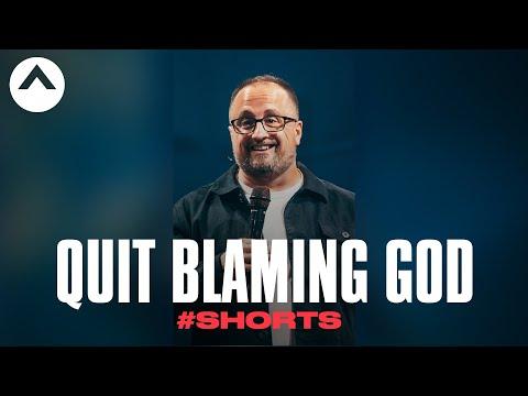 Quit Blaming God #Shorts  Larry Brey