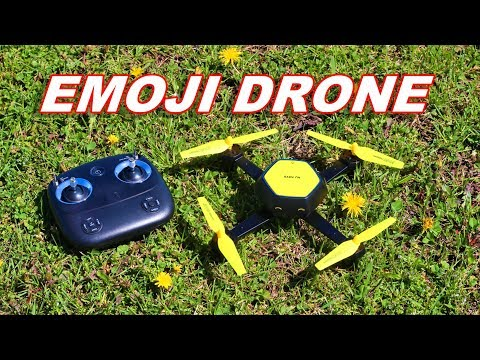 Emoji Drone - Altitude Hold WiFi FPV Quadcopter - Q Fly - TheRcSaylors - UCYWhRC3xtD_acDIZdr53huA
