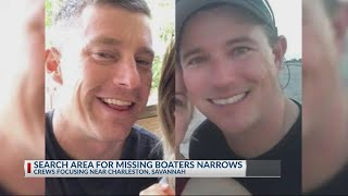 Search for missing boaters stretches to Charleston; looking for volunteers