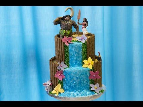 Cake Moana Facile