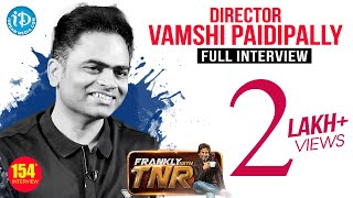 Maharshi Director Vamsi Paidipally Exclusive Interview -Promo || Frankly With TNR #154