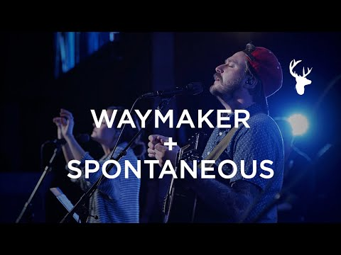 Way Maker + Spontaneous - Hunter Thompson and Kristene DiMarco  Moment