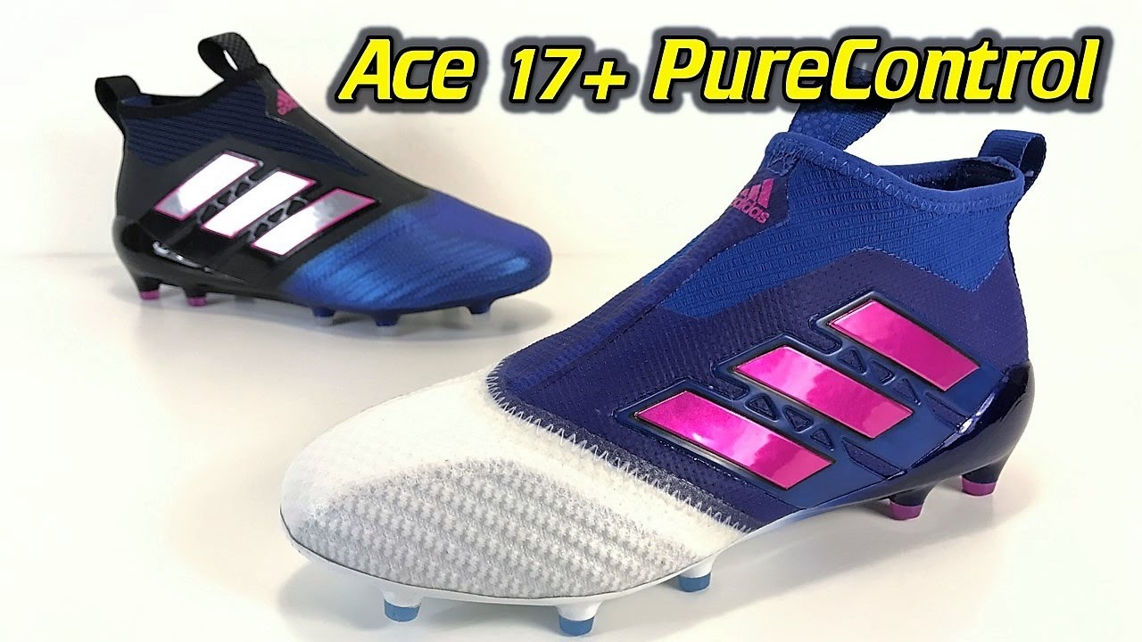 4738272b0 Adidas ACE 17+ Purecontrol (Blue Blast Pack White Toe) - One Take Review +  On Feet