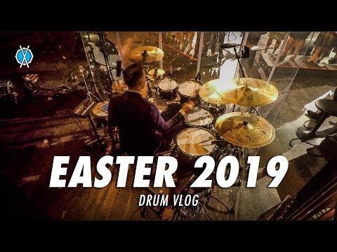 EASTER 2019 // Drum Vlog